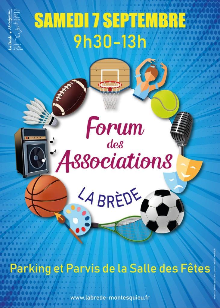 Forum des associations de La Brède