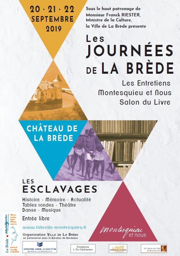 affiche Journées de La Brede