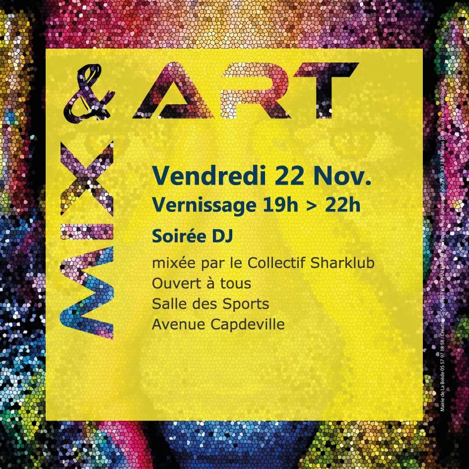 Vernissage MIX and ART Salon des arts 2019 La Brede